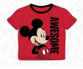 T-Shirt Bebé Mickey Awesome