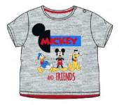 T-Shirt Bebé Mickey Friends Cinza