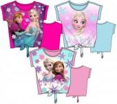 T-shirt c/ nó de Frozen - sortido