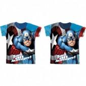 T-shirt Capitão América - I am Avenger - sortido