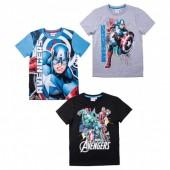 T-shirt Capitão America Marvel sortido