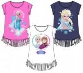 T-shirt com franjinhas de Frozen