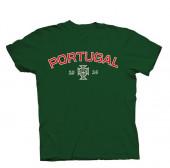 T-Shirt Criança Portugal Verde