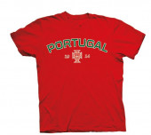 T-Shirt Criança Portugal Vermelha