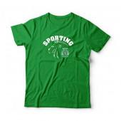 T-Shirt Criança Sporting Leão Verde