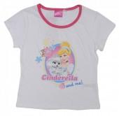 T-shirt da Cinderela and Me - Branca