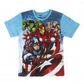 T-shirt de algodão dos Avengers