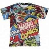 T-shirt dos Vingadores Avengers Marvel