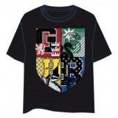 T-Shirt Harry Potter Brasão