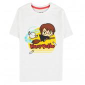 T-Shirt Harry Potter Chibi Branca