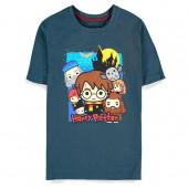 T-Shirt Harry Potter Chibi Personagens