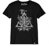 T-Shirt Harry Potter Talismãs da Morte