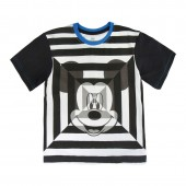 T-Shirt listada Mickey Disney