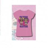T-Shirt LOL Surprise Go Team Glitter