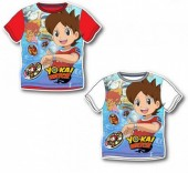 T-shirt manga curta de Yo-Kai Watch
