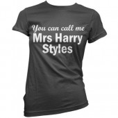 T-shirt menina Call Mrs Harry Styles One Direction (8 cores)