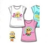 T-Shirt Menina Minions 4 Und