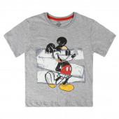 T-shirt Mickey Cinza