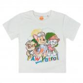 T-shirt Patrulha Pata Branca