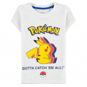 T-Shirt Pokémon Pikachu Silhouette
