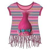 T-shirt Poppy Trolls  - Rosa