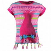 T-shirt Poppy Trolls  - Roxa