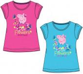 T-Shirt Porquinha Peppa Flowers Sortida