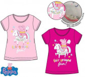 T-Shirt Porquinha Peppa Rainbow Sortida