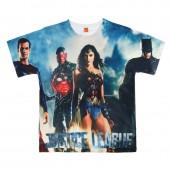 T-shirt premium Liga da Justiça