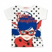 T shirt purpurina Ladybug - Time to Transform
