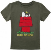 T-Shirt Snoopy Living the Dream