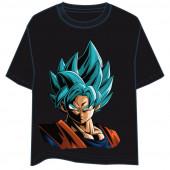 T-Shirt Son Goku Blue Super Saiyan Dragon Ball