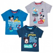 T-shirts baby Mickey Disney - little person sortido