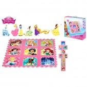 Tapete de actividade EVA Princesas Disney