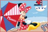 Tapete Minnie Disney - Praia