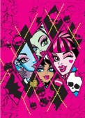 Tapete Monster High Diamonds