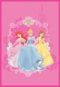Tapete Princesas Disney (140x200cm)