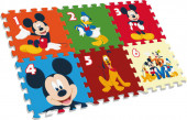 Tapete Puzzle Eva Mickey Mouse 90x60cm