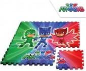Tapete Puzzle Eva PJ Masks 90x90cm.