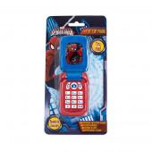 Telefone Com Luzes, Som e Tampa Spiderman