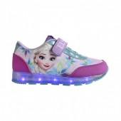 Tenis com luz desportivos Frozen Disney