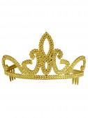 Tiara Coroa Dourada