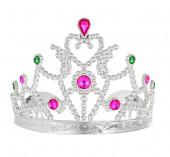 Tiara Prateada Princesa