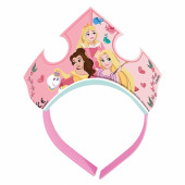 Tiaras de Festa Princesas Disney 4 unid