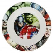 Tigela Microondas Avengers Marvel