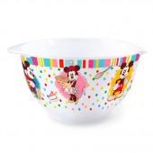 Tigela para bolo em melamina Mickey Minnie Disney