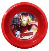 Tigela Plástico Avengers