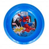Tigela Plástico Spiderman Marvel