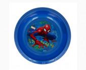 Tigela Plástico Spiderman