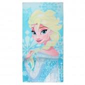 Toalha de algodão Elsa Frozen Disney